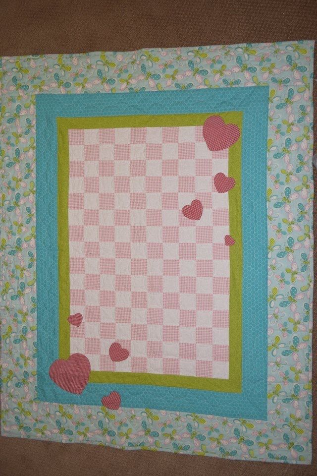 Chloe's baby quilt