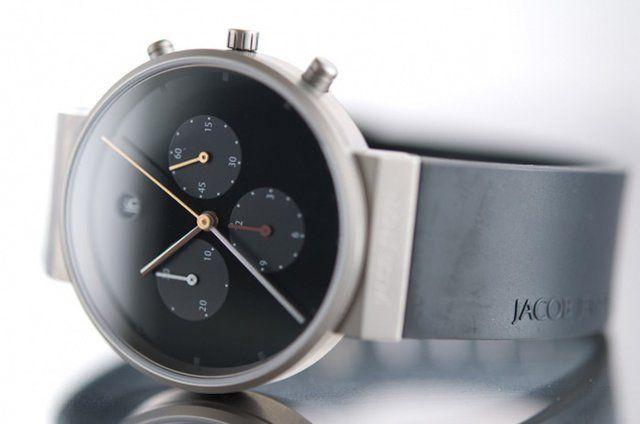 Jacob Jensen Chronograph 600: Analog Clocks, Chronograph 32600, Men Style, Jacob Jensen, Jensen Chronograph, Timepieces, Watches, Chronograph 600, Minimalist Style