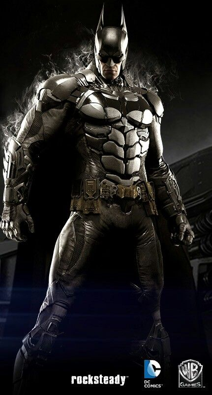I like this drawing because It almost looks like Batman's real and It's based on the new game Batman Arkham Knight. Mauricio Quiroz