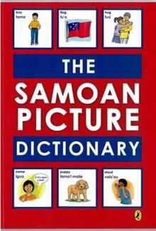 Learn essential Samoan vocabulary with this illustrated dictionary