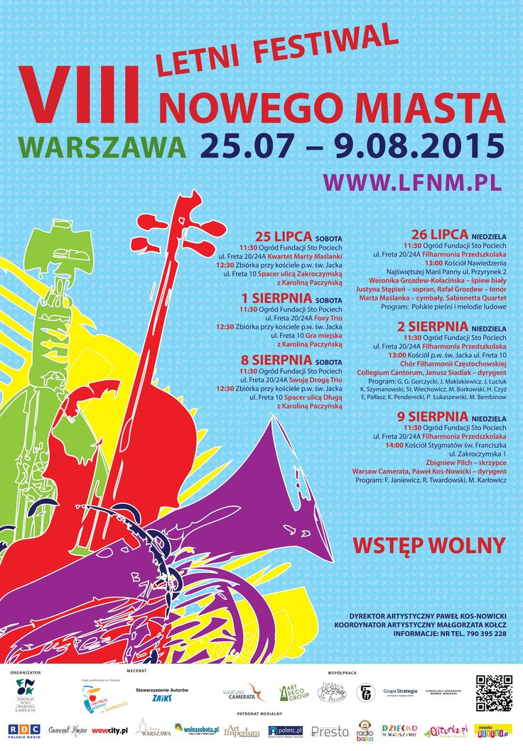 VIII Letni Festiwal Nowego Miasta - program