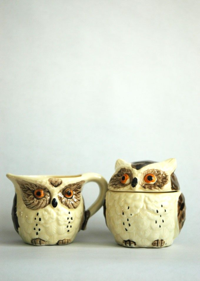 Buy Vintage Owl Tableware & 24 best Dinnerware images on Pinterest | Dinner ware Cutlery and ...
