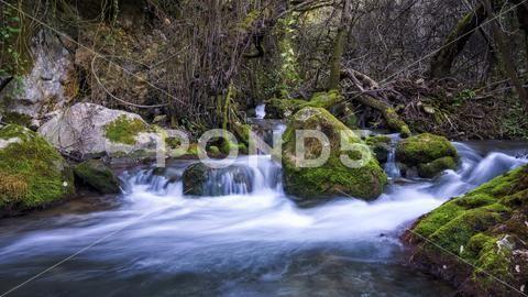 Majaceite River Benamahoma Cadiz Spain - Stock Photo   by PabloAvanzini