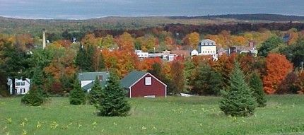 Dover-Foxcroft, Me. My husband's hometown ...  miss going up there with both his folks gone.