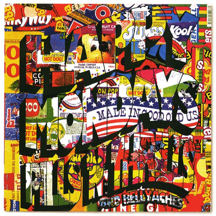 happy mondays - pills 'n' thrills and bellyaches.....designed by peter saville