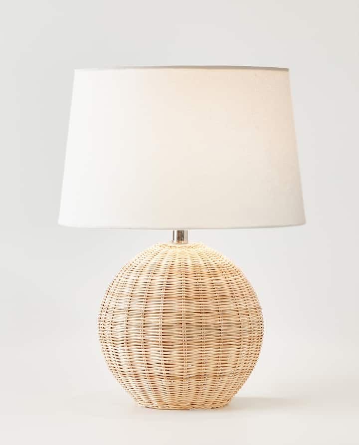 Image Of The Rattan Lamp, Formal Table Lamps
