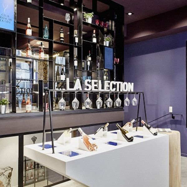 Design showcase: Le Club Francais du Vin opens store to bring online offer to life - Retail Design World