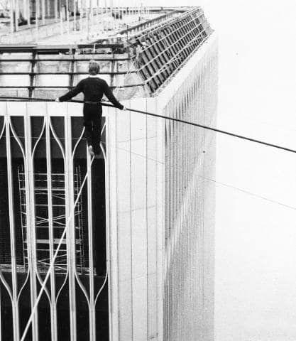 Philippe Petit's World Trade Center walk