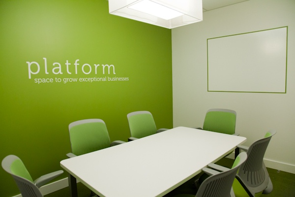Our Green Room boardroom seats 6 and insists upon productive meetings and exceptional fresh thinking. #Steelcase