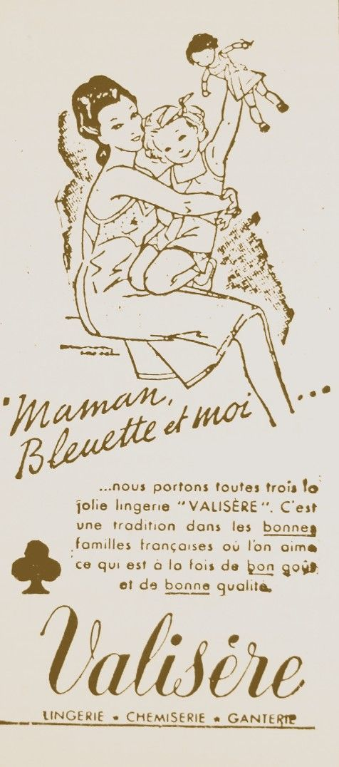 Bleuette Histoire - Bleuettes Vintage