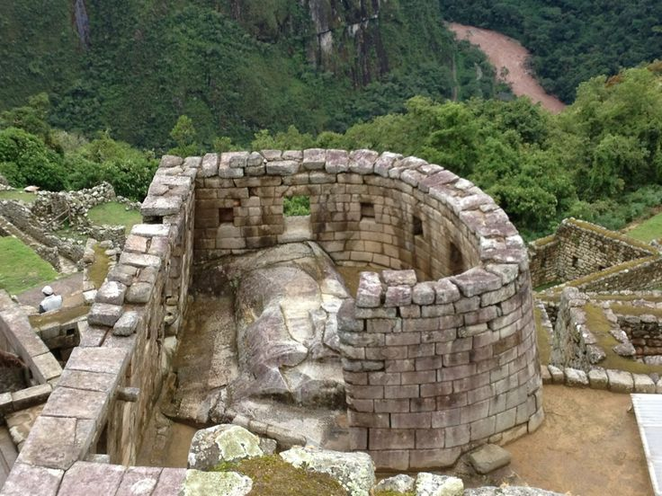 Templo del Sol en Machu Picchu, Cusco