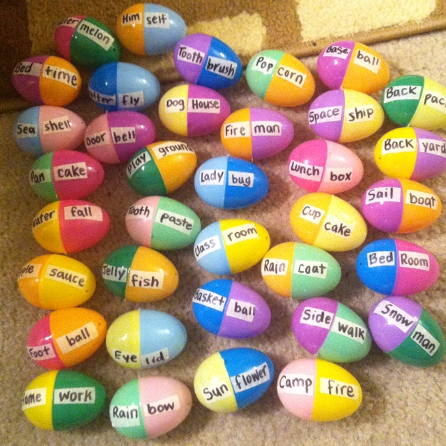 Compound word eggs :)