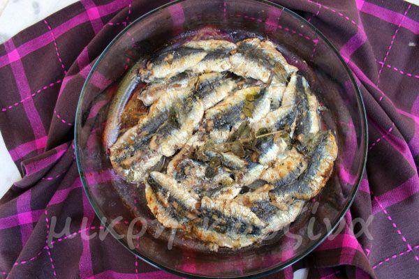μικρή κουζίνα: Σαρδέλες φούρνου με λαδολέμονο