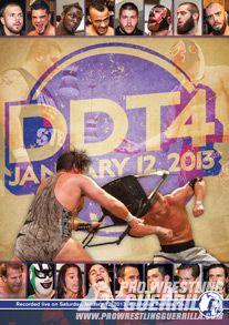 Pro Wrestling Guerrilla DDT4 (2013) DVD