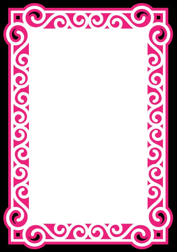 Swirly Frame 9 by Bird - SVG cuttable file | Cricut ...