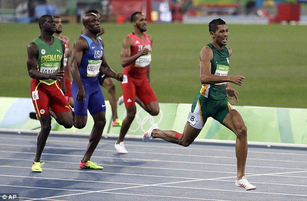 Five facts about South African sprinter Wayde van Niekerk, who broke the men's 400m world record at the Olympic Games with a time of 43.03sec in Rio.One family, two medalsVan Nierkerk is not the only member of his family to win a medal in Rio. His cousin is Cheslin Kolbe, who won bronze ...