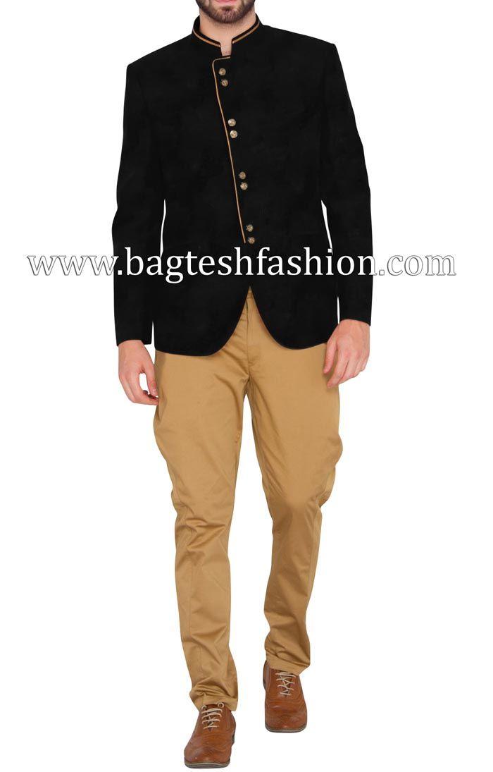Glamour Look Jodhpuri With Khaki Breeches