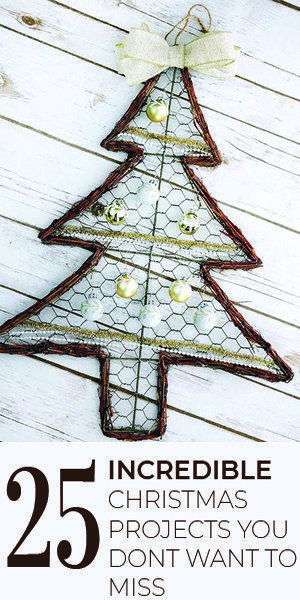 Grab a few packs of large Christmas ornaments & make this for your wall