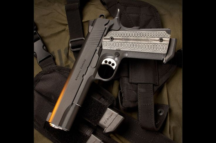 Ed Brown SF3-SS-G4 Special Forces G4 Pistol .45 ACP 5in 8rd Black for sale at Tombstone Tactical.