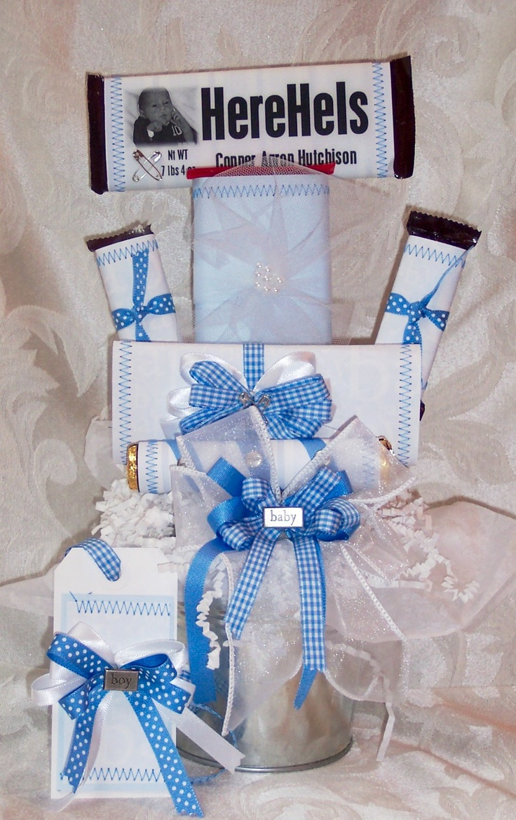 116 best CraftsCandy Bar Bouquets images – Baby Announcement Candy