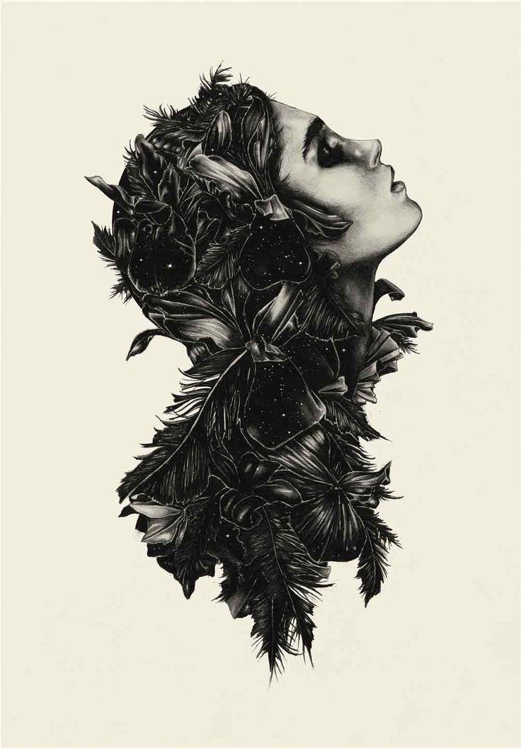 :): Ross Mcewan, Amazing Art, Illustrations, Rossmcewan, Artists Unknown, Artists Inspiration, Design Art, Drawing, Feathers Good