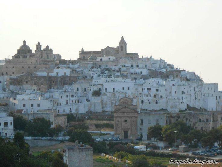 Ostuni, the white city of Apulia, Southern Italy