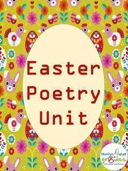 This is a poetry unit around the theme of Easter. I have worksheets for your students to complete to help them appreciate poetry writing. The exercises are easy and fun for the students but there are rules for writing that they need to appreciate and use. There is also an Easter card to make, coloring, short story writing, teacher tips and a look at Easter bonnets.