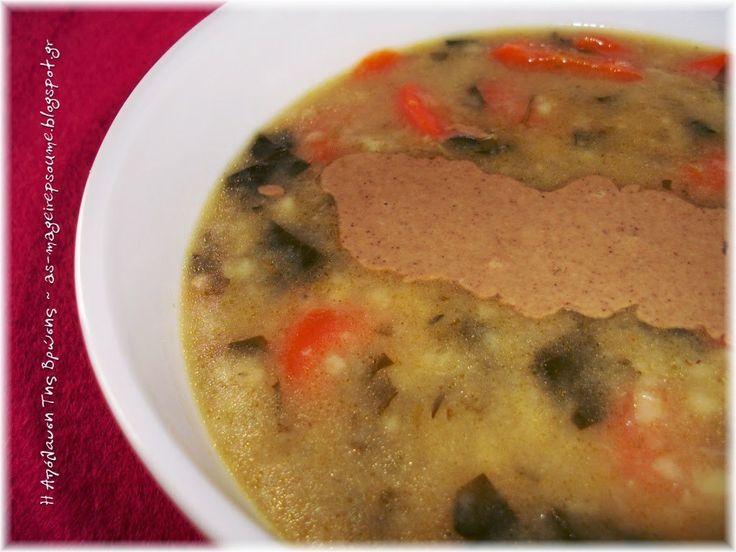 Σούπα απλή και πεντανόστιμη