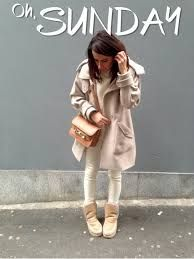 White #Outfit, Mou #Boots.