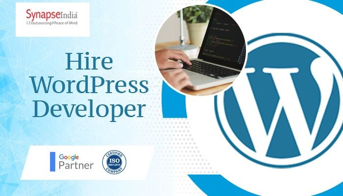Hire WordPress developer from SynapseIndia to help your business