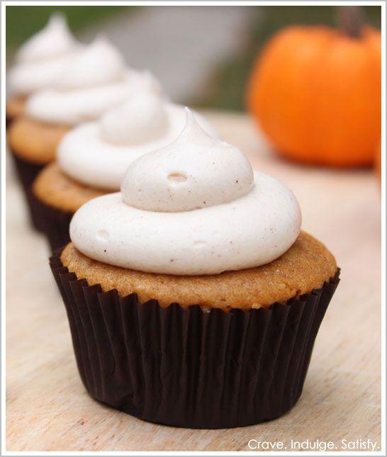 Half Baked – The Cake Blog » Pumpkin Cupcakes with Cinnamon Cream Cheese