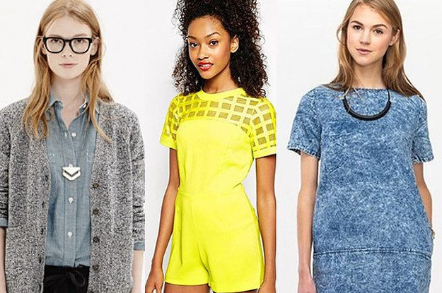 Stores: Here's a guide to some great clothing stores aimed at people in Mid 20s