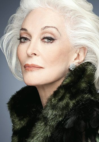 Divine Supermodel   Carmen Dell'Orefice 2012  Photos: Courtesy: Rouge / Archivo Atlántida