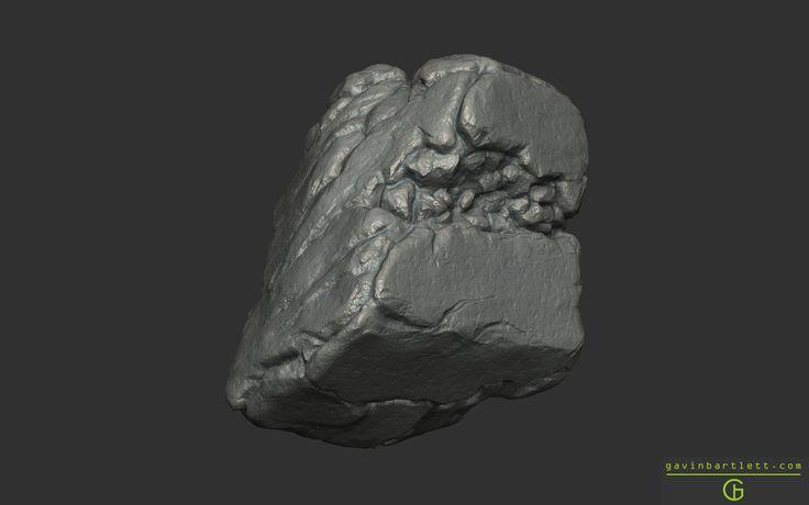 ArtStation - Collection of Rocks, Gavin Bartlett