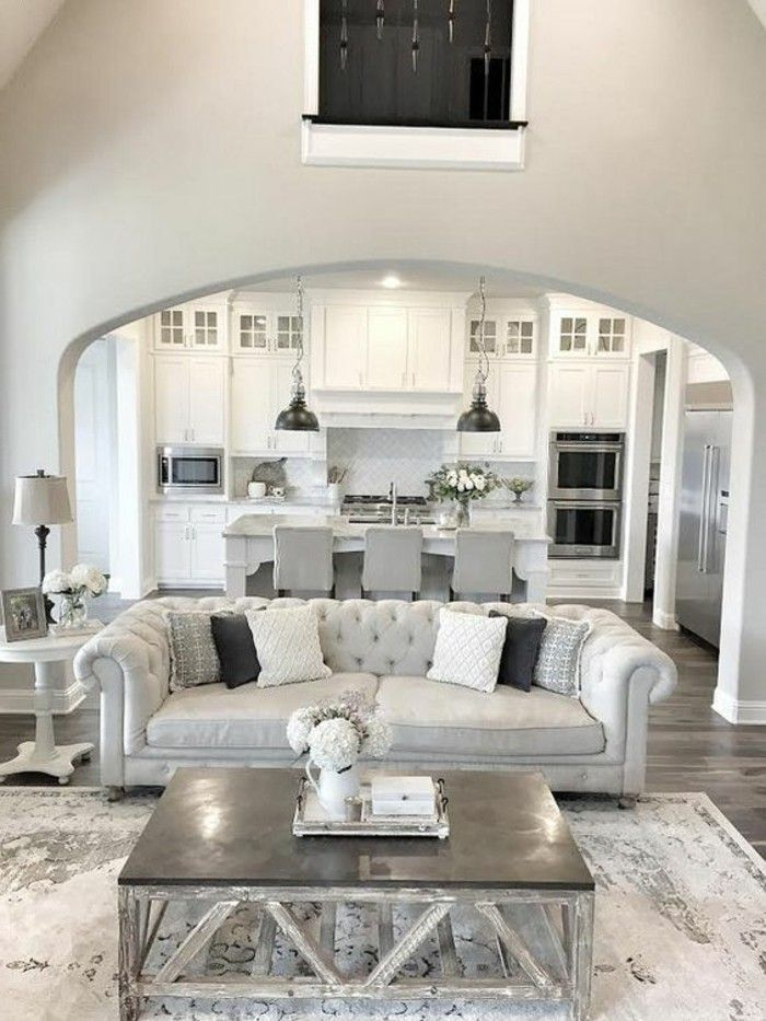 Love this living area from lizmariegalvan thesummerhousestyle