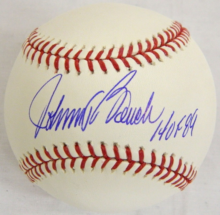 Johnny Bench Autographed Baseball Part - 23: AAA Sports Memorabilia LLC - Johnny Bench Signed Official MLB Baseball  W/HOFu002789