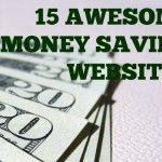 15 Awesome Money Saving Websites