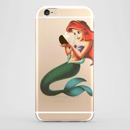 Funda iPhone 6 La Sirenita Transparente #iphone6 #fundaiphone6 #iphone6plus #accesoriosiphone6 #tutiendastore #lasirenita #sirenita #ariel