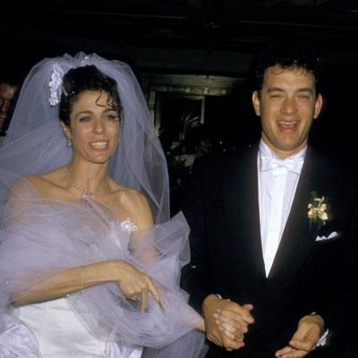 Rita Wilson and Tom Hanks; Married 1988