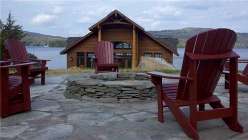 Stacked Stone Fire Pit  Fire Pit  Stone Age Landscaping LLC  New Hartford, NY