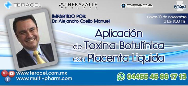 Curso de Aplicación de Toxina Botulínica con Placenta Liquida