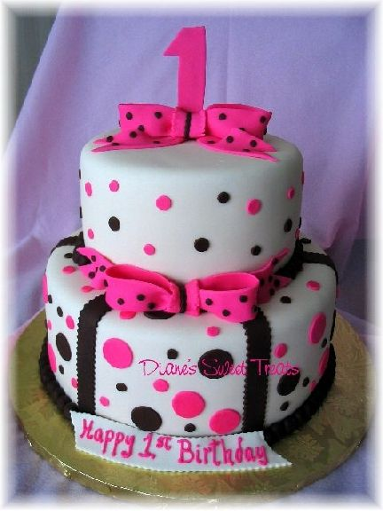 Cute Anniversary Cake Images : Cute girls birthday cake Girl cakes Pinterest