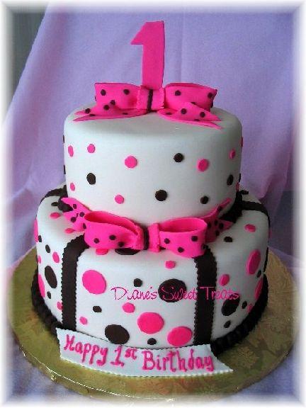 Cute girls birthday cake maybe lexis 2nd b day cake