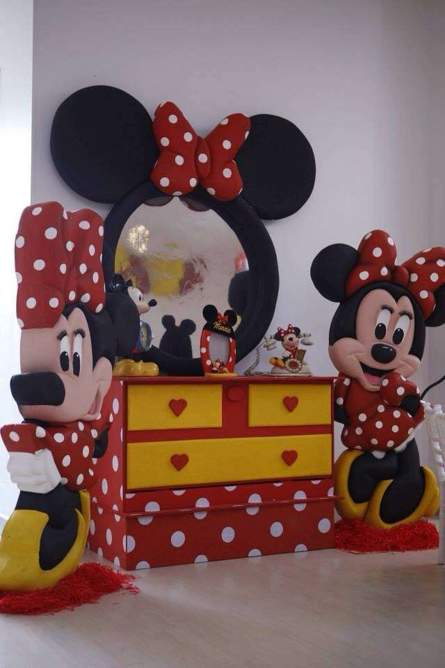 Minnie Mouse Polka dots Birthday Party Ideas | Photo 3 of 7 | Catch My Party