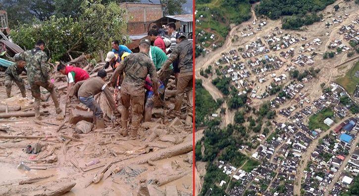 #DÜNYA O ülkede büyük felaket! Dünya flaş olarak duyurdu: Kolombiya Devlet Başkanı Juan Manuel Santos, Putumayo'daki sel felaketinde 154…