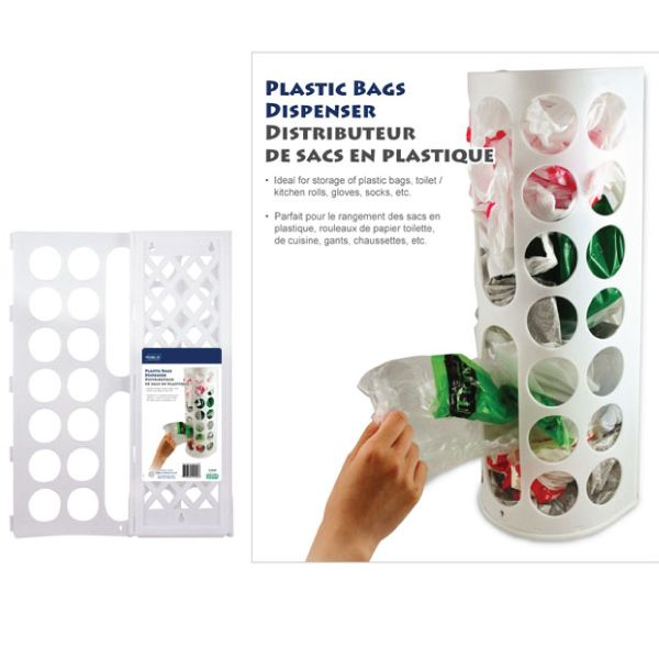 HAPPY Storage - Plastic Bags Dispenser $4  Langham Mall Unit 2333 & 2335 Level 2, 8339 Kennedy Road, Markham, Ontario, Canada  www.OneOfAKaIND.com