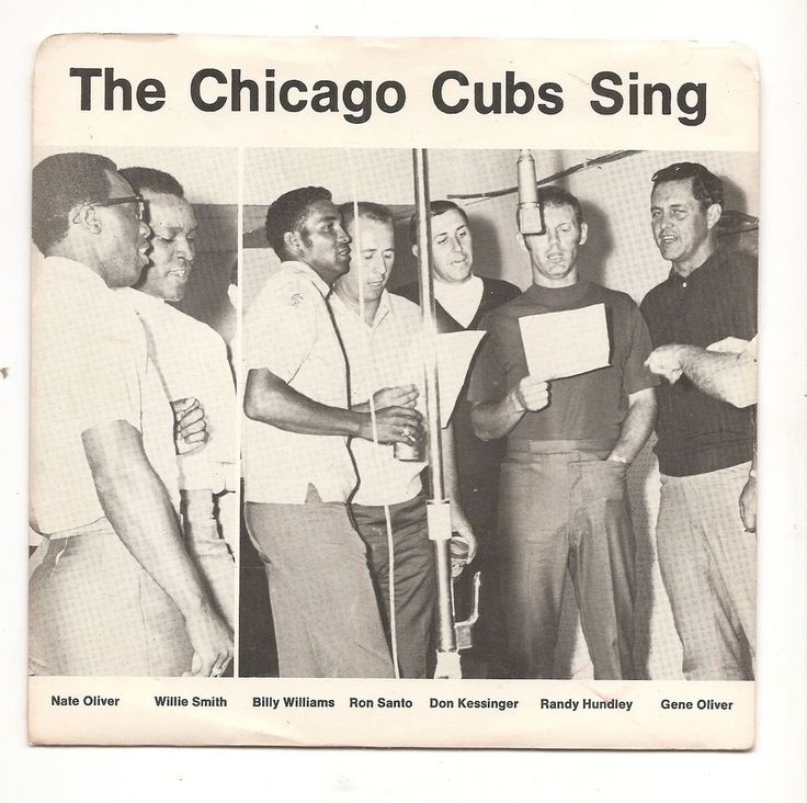 for sale at Volo Antique Mall - case #962 - Vintage 45 RPM record The Chicago Cubs Sing Williams Santo ++