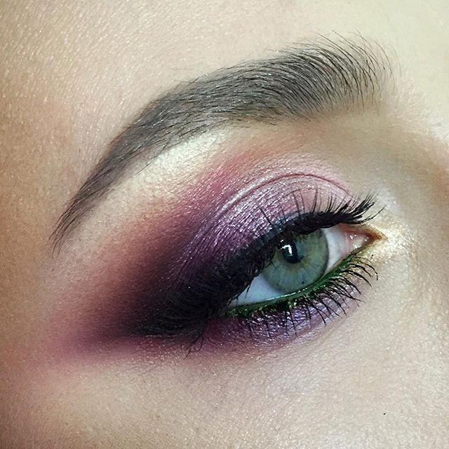 25 beautiful purple eye makeup ideas on pinterest