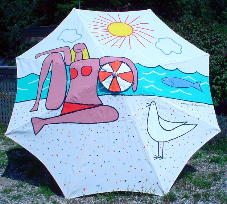 9 Best Images About Hand Painted Umbrellas On Pinterest