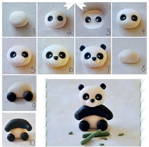 фигурки из полимерной глины для детей легкие